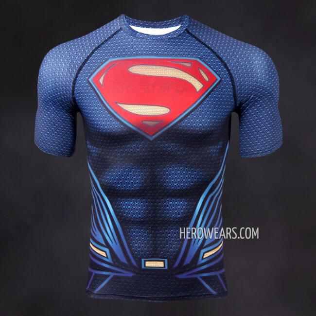 Superman MkII Compression Shirt Rashguard