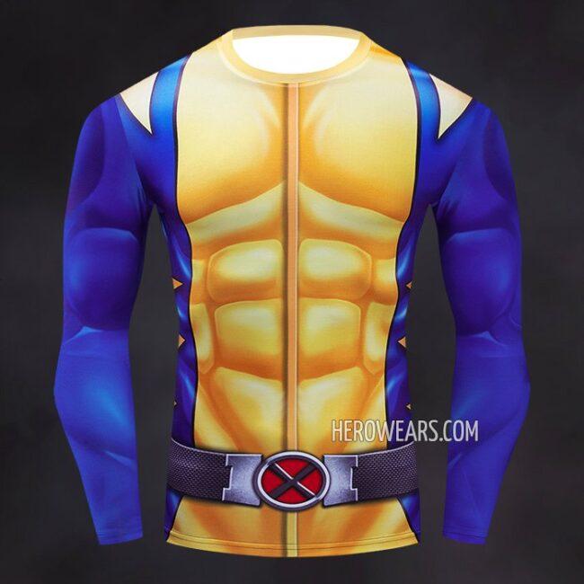 Wolverine Compression Shirt Rashguard