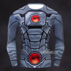 Cyborg Compression Shirt Rash Guard