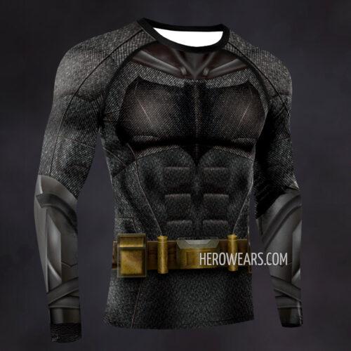 Batman Justice League Compression Shirt Rash Guard