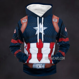 Captain America Scale Armor Hoodie