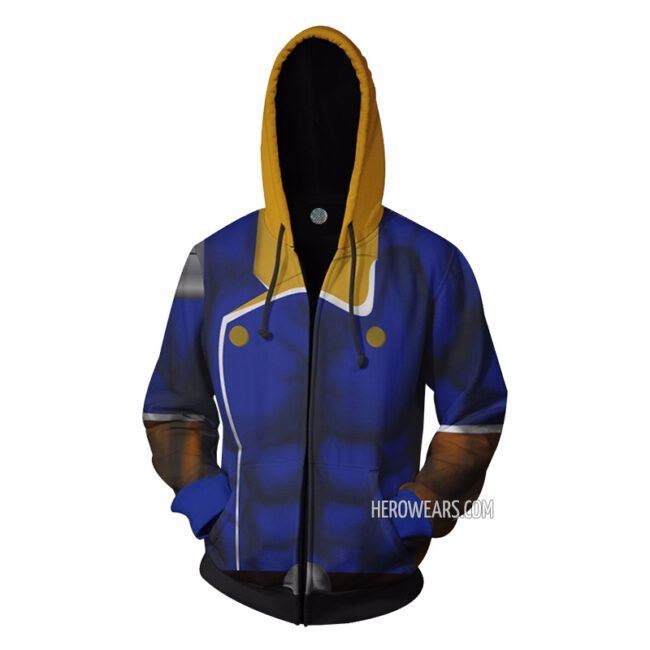 Captain Falcon Zip Up Hoodie