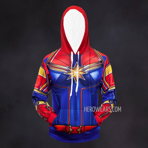 Captain Marvel Hoodie