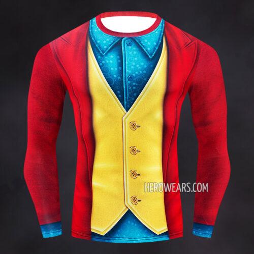Joker Compression Shirt Rash Guard