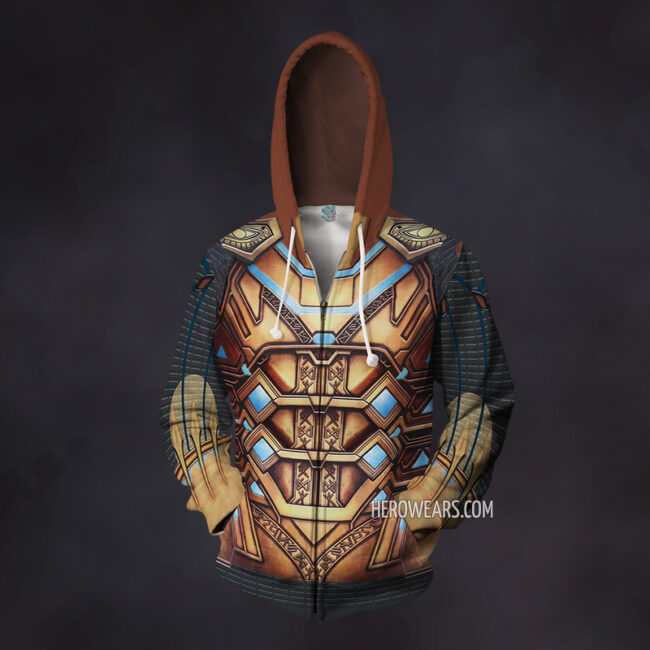 Mysterio Zip Up Hoodie