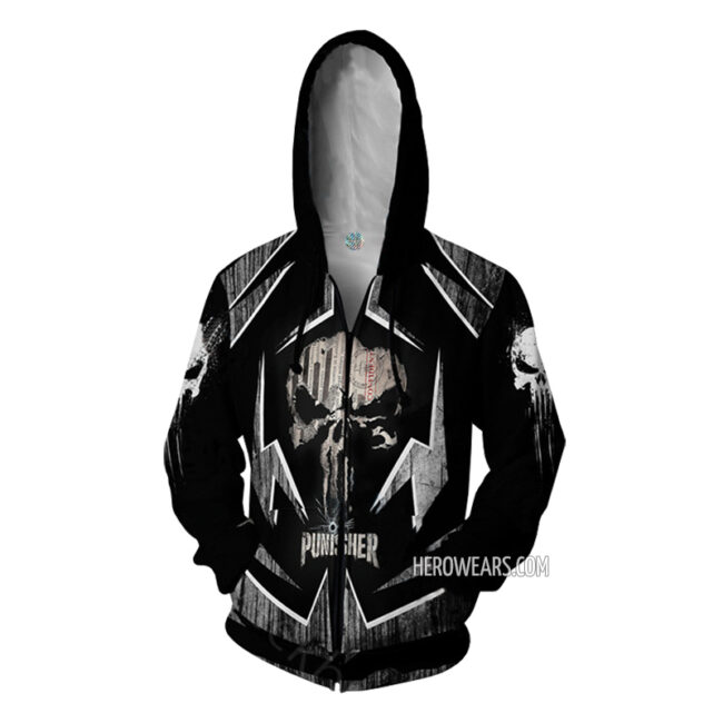 Punisher Zipper Hoodie