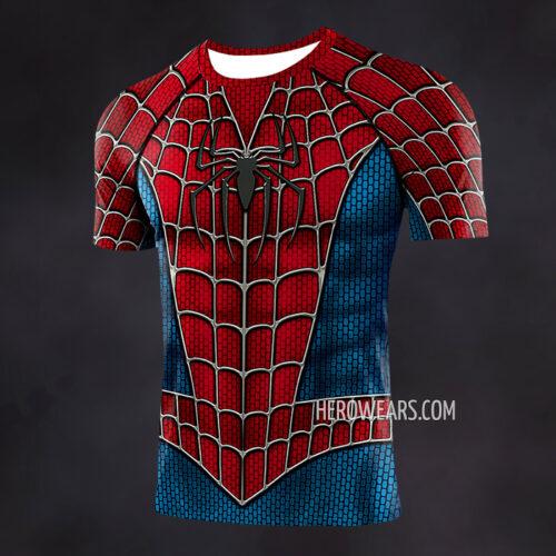 Spiderman Raimi Compression Shirt Rash Guard