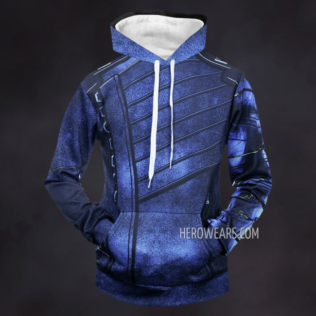 White Wolf Winter Soldier Hoodie
