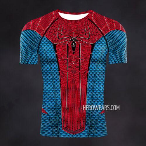 Amazing Spiderman Compression Shirt Rash Guard