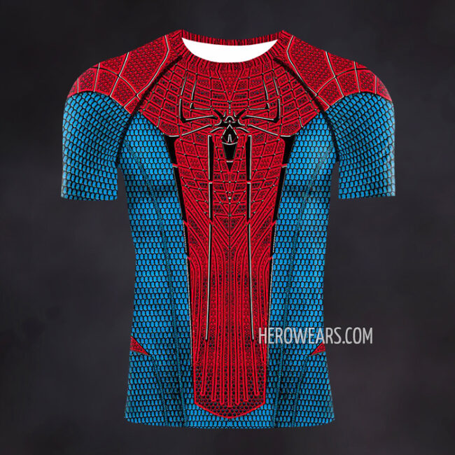 Amazing Spider Man Compression Shirt Rashguard