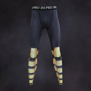 Black Adam Compression Leggings
