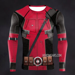 Deadpool Tactical Compression Shirt Rashguard