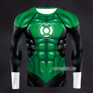 Green Lantern New 52 Compression Shirt Rash Guard