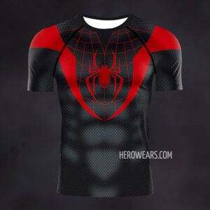 Miles Morales Compression Shirt Rash Guard