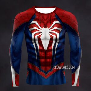 Spiderman PS4 Insomniac Compression Shirt Rashguard