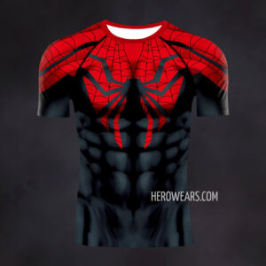 Superior Spiderman Compression Shirt Rash Guard