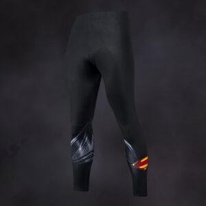 Superman Black Compression Leggings