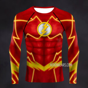 Flash New 52 Compression Shirt Rash Guard