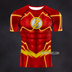 Flash New 52 Compression Shirt Rashguard