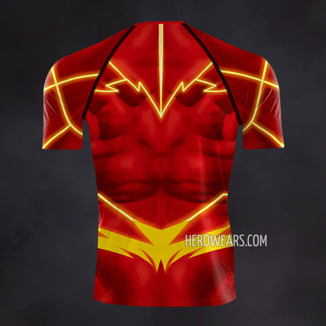 The Flash New 52 Compression Shirt Rashguard