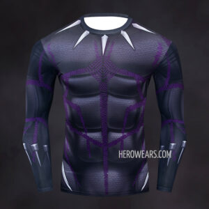Black Panther Kinetic Compression Shirt Rashguard