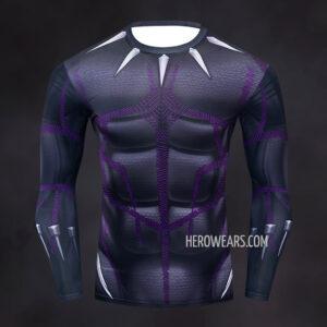 Black Panther Kinetic Compression Shirt Rashguard