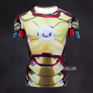 Iron Man Mk42 Compression Shirt Rash Guard