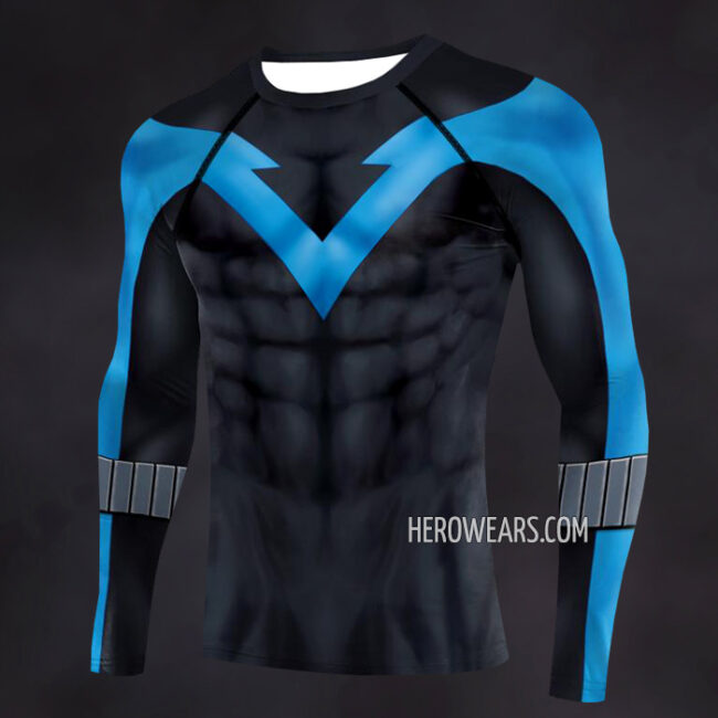 Nightwing Compression Shirt Rashguard