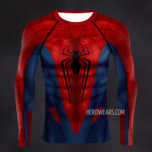 Amazing Spider Man Redesign Compression Shirt Rashguard