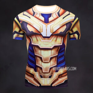 Thanos Compression Shirt Rash Guard