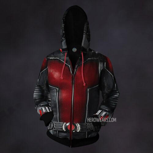 Ant Man Zip Up Hoodie