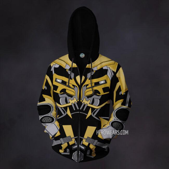 Bumblebee Transformers Hoodie