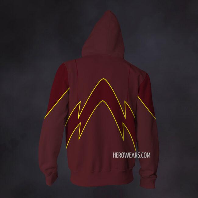 Flash 2014 Zip Up Hoodie