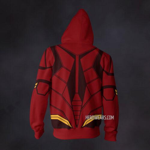 Flash Justice League Zip Up Hoodie