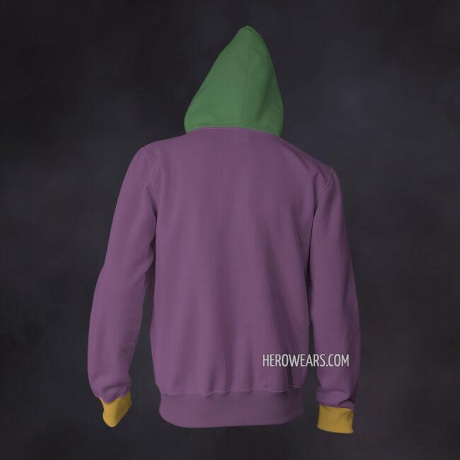 Joker Zip Up Hoodie