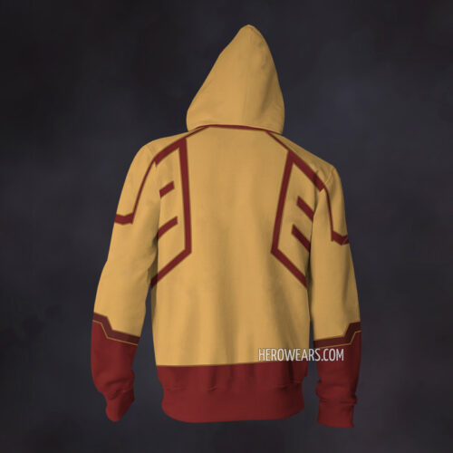 Kid Flash Zip Up Hoodie