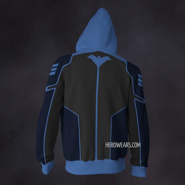 Nightwing Zip Up Hoodie