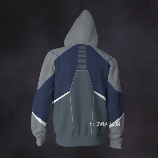 Quicksilver Avengers Zip Up Hoodie