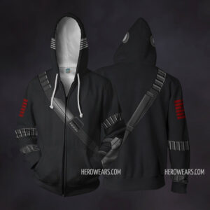 Snake Eyes Zip Up Hoodie