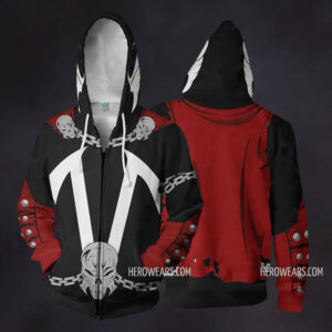 Spawn Zip Up Hoodie