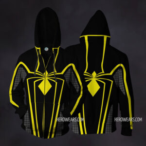 Spider Man Armor MkII Zip Up Hoodie
