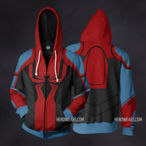 Spider Man Armor MkIII Zip Up Hoodie