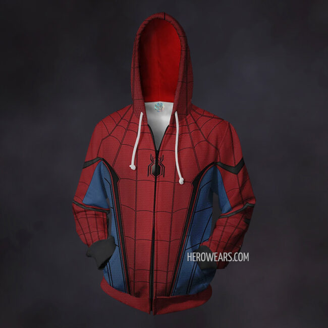 Spiderman Homecoming Zip Up Hoodie