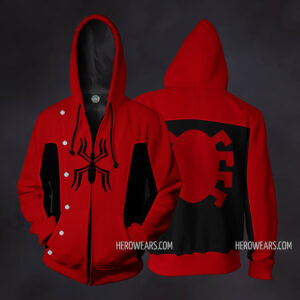Spider Man Last Stand Zip Up Hoodie