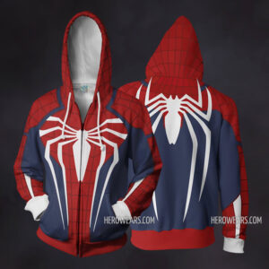 Spiderman PS4 Zip Up Hoodie