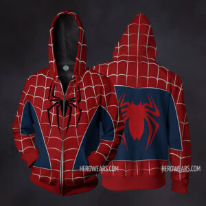 Spider Man Raimi Zip Up Hoodie