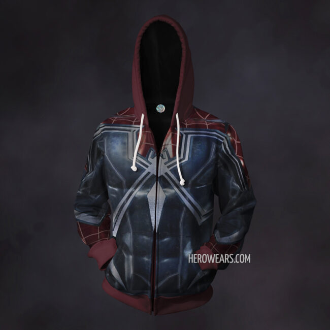 Spider Man Resilient Zip Up Hoodie