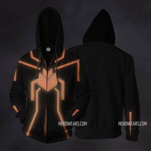 Spider Man Stealth Zip Up Hoodie