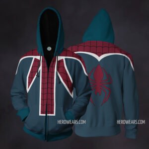 Spider Man UK Zip Up Hoodie