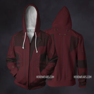 Star Lord Zip Up Hoodie